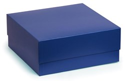 Blue Box With Blue Satin Lining 145x145x55mm