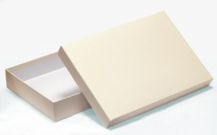 Luxury Cream A4  Gift Box 215 x 310 x 50mm (WPA41IV)