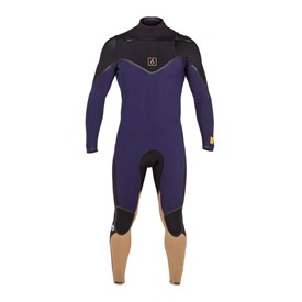 Agent Eighteen Wetsuits Finite 302mm Steamer - Black/ Midnight Blue/ Cashew - 2015 Winter Range
