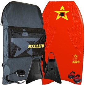 STEALTH BODYBOARDS Blaster EPS Core - 2017/18 Model - Package Deal