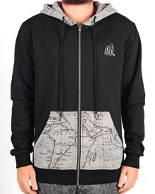 GRAND FLAVOUR Bandito Zip Hooded Pullover