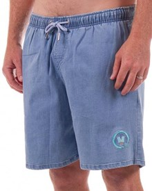 GRAND FLAVOUR Sucker Shorts - Blue