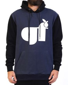 GRAND FLAVOUR Super Juicy Hoody - Black/ Navy