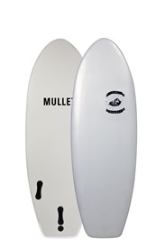MULLET SOFT SURFBOARD Nugget Model - 4' 6 - White - 2016/17 Model