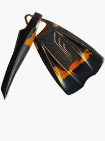 POD Fins PF2 - Black/ Orange