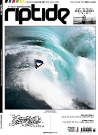 RIPTIDE ISSUE 184 - Free Copy of the Shark Island Challenge Dvd!