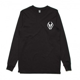 NMD Bodyboards Logo Long Sleeve T Shirt - Black