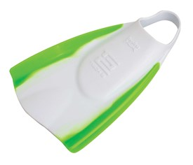 Hydro Tech2 Bodyboard Fin - White/ Green