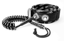 NOMAD MEDIUM BICEP LEASH - Silver