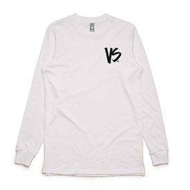 VS Bodyboards Logo Long Sleeve T Shirt - White