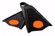 Mike Stewart Viper Flex Bodyboard Fins  - Orange Dot