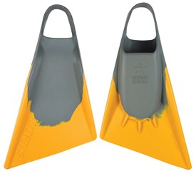 STEALTH S2 FINS - Grey / Sun Gold