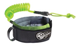 CREATURES OF LEISURE Ryan Hardy Bicep Leash - Lime Crystal/Clear (Lime Cuff)