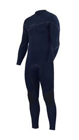 ZION WETSUITS Yeti 3/2mm Liquid S-Sealed Zipperless Steamer - Midnight - Winter 2017 Range