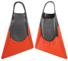 STEALTH S2 FINS - Grey / Orange
