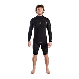 AGENT EIGHTEEN Wetsuits - A1 Chest Zip 202mm S-Sealed Long Sleeve Springsuit - Black Hole - 2018 Winter Range