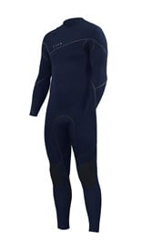 ZION WETSUITS Yeti 4/3mm Liquid S-Sealed Zipperless Steamer - Midnight - Winter 2017 Range