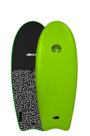 MULLET SOFT SURFBOARDS Fat Cat Model - 4' 8 - Green - 2017/18 Model