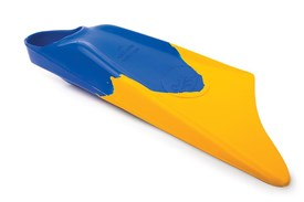 LIMITED EDITION FINS - Blue / Gold