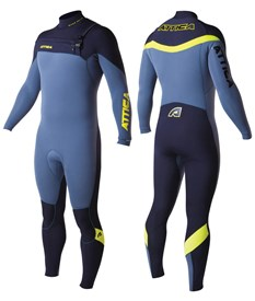 ATTICA WETSUITS ALPHA INFERNO GBS 3/2mm STEAMER ASH/ BLACK/ YELLOW - 2014 Winter