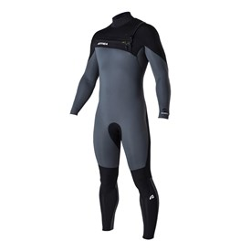ATTICA Wetsuits - Omega GBS 3/2mm Steamer - Ash/Black - 2017 Winter