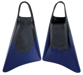 STEALTH S3 FINS - Black / Blue - Nick Gornall Model.