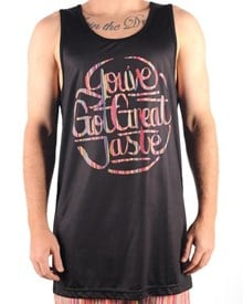 GRAND FLAVOUR Great Taste Surf Tank Top - Black