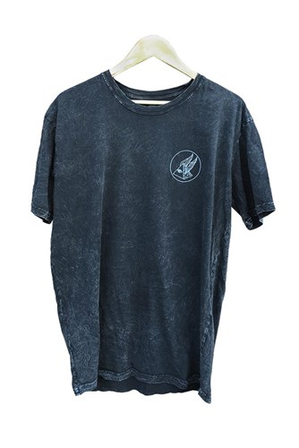 ZION WETSUITS Circle Pyramid T Shirt - Acid Wash