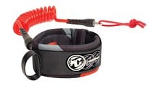CREATURES OF LEISURE Ryan Hardy Bicep Leash - Large - White/ Red