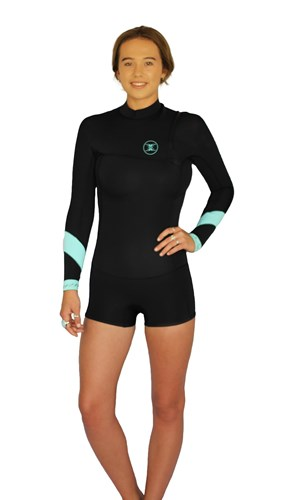 REEFLEX WETSUITS Ember Ladies 2/2mm Zipperless Long Sleeve Springsuit - Winter 2017 Range