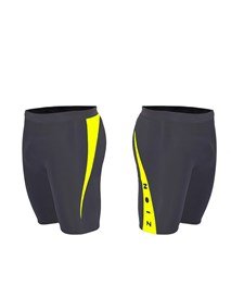 ZION WETSUITS MATLOCK 2/2mm Wetsuit Shorts - Black/ Yellow - 2013/14 Summer Range