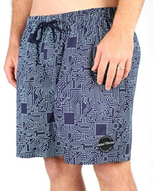 GRAND FLAVOUR Circuit Shorts - Navy