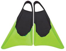 S3 STEALTH FINS - Black/ Lime Green