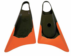 CHURCHILL FINS - Black/Orange