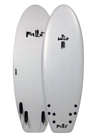MULLET SOFT SURFBOARD Biscuit Model - 5' 4