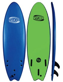 RYDER SOFT SURFBOARD Thruster Fish Series - 6'0 - 2015/16 Model