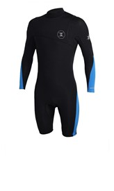REEFLEX WETSUITS Hardy X Series Zipperless 2/2mm Long Sleeve Springsuit - Blue/ Black - Summer 2016/17 Range