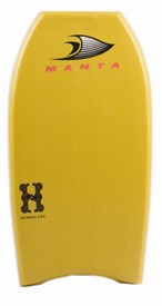MANTA BODYBOARDS Hurricane Polypro (PP) Core - 2014/15 Model