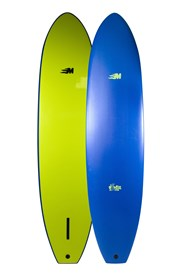 MULLET SOFT SURFBOARD 8'0 Single Fin Longboard - 2017/18 Model
