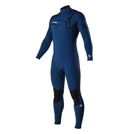 ATTICA Wetsuits - Alpha Liquid Sealed GBS 4/3mm STEAMER - Iodine Blue - 2016 Winter Range