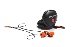 SURF EARS 2.0 - Black / Orange
