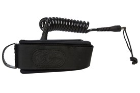 CREATURES OF LEISURE Ryan Hardy Bicep Leash - Black/Black (Black Cuff)