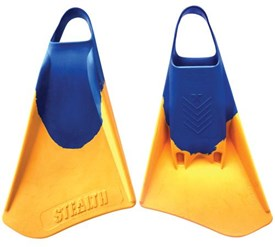 STEALTH S4 FINS - Blue/ Sun Gold
