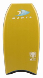 MANTA BODYBOARDS Spencer Skipper Polypro (PP) Core - 2014/15 Model
