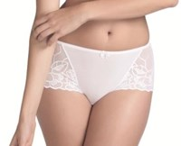 Fauve Chloe French Knicker in White