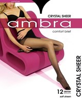 Ambra Crystal Sheer Comfort Brief Pantyhose