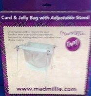 Curd & Jelly Bag with Adjustable Stand