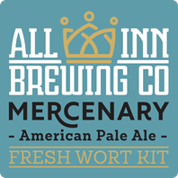 All In Mercenary American Pale Ale Fresh Wort