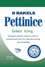Bakels Pettinice Green Icing 750g