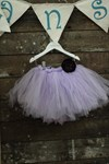 Lavender Tutu with built in bamboo pants